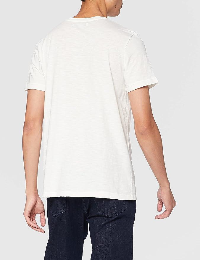 Marca Amazon - find. Camiseta con Cuello Redondo Hombre ...