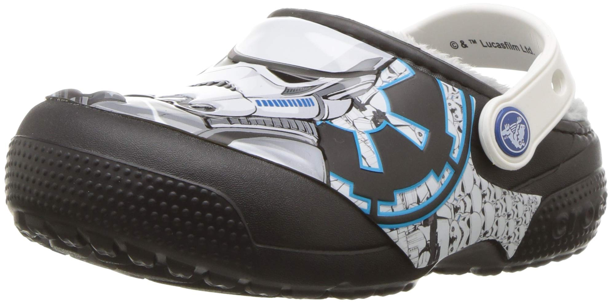 Crocs Unisex FunLab Lined Stormtrooper Clog, Black, 13 M US Little Kid by Crocs (Image #1)