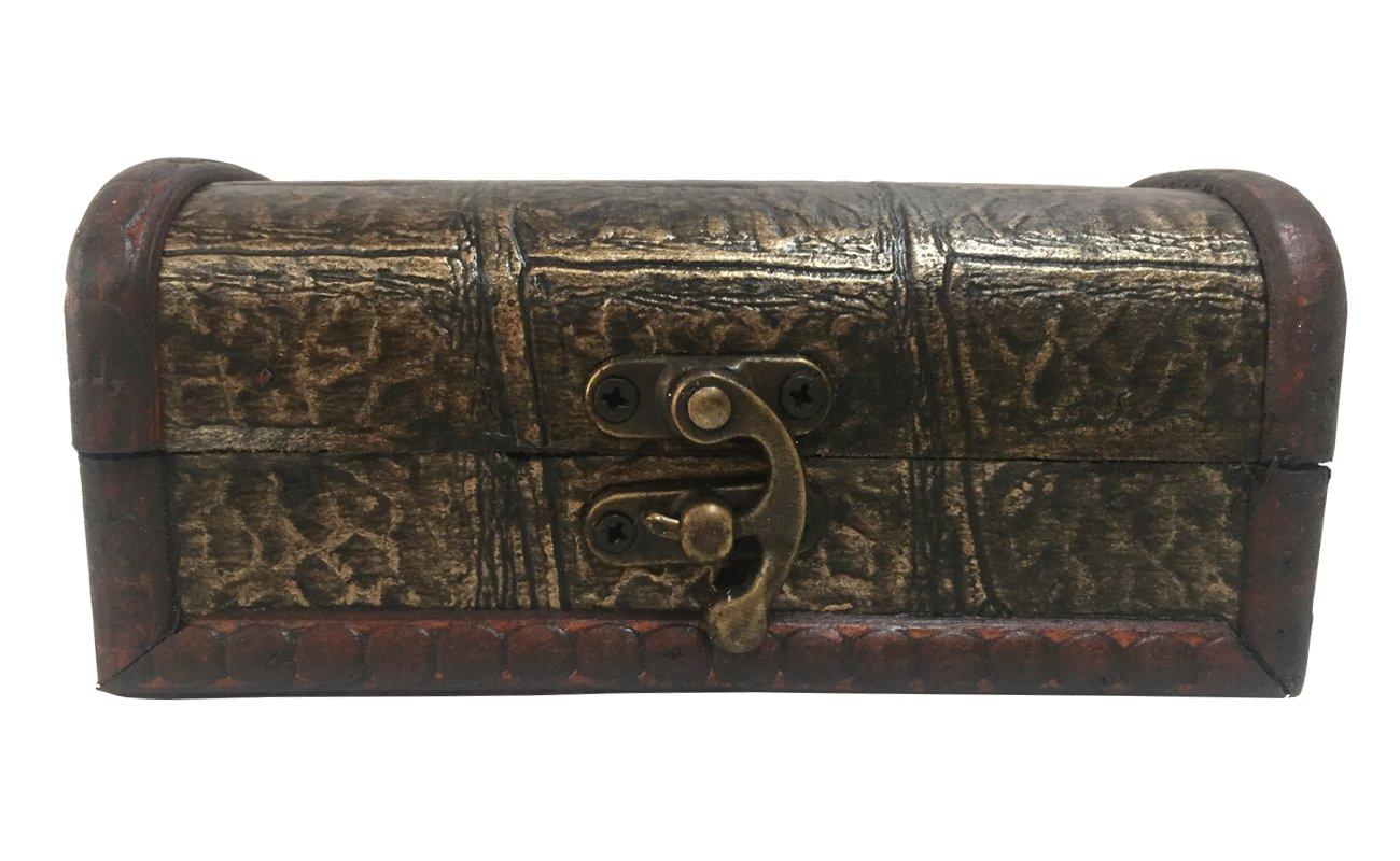 cofre largo de madera para guardar joyas Deliex