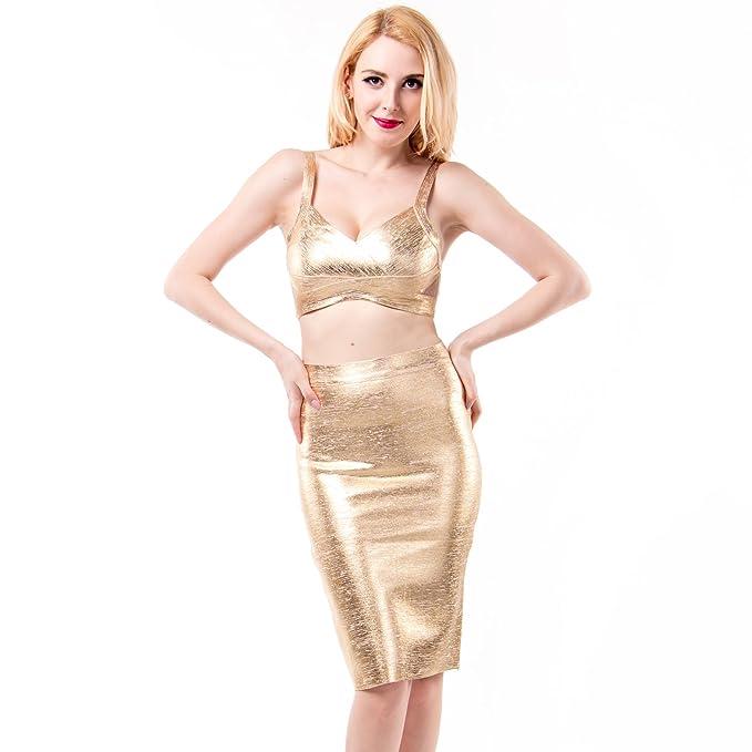 Shownice Bodycon - Falda de Tirantes para Mujer, diseño de Cruz ...
