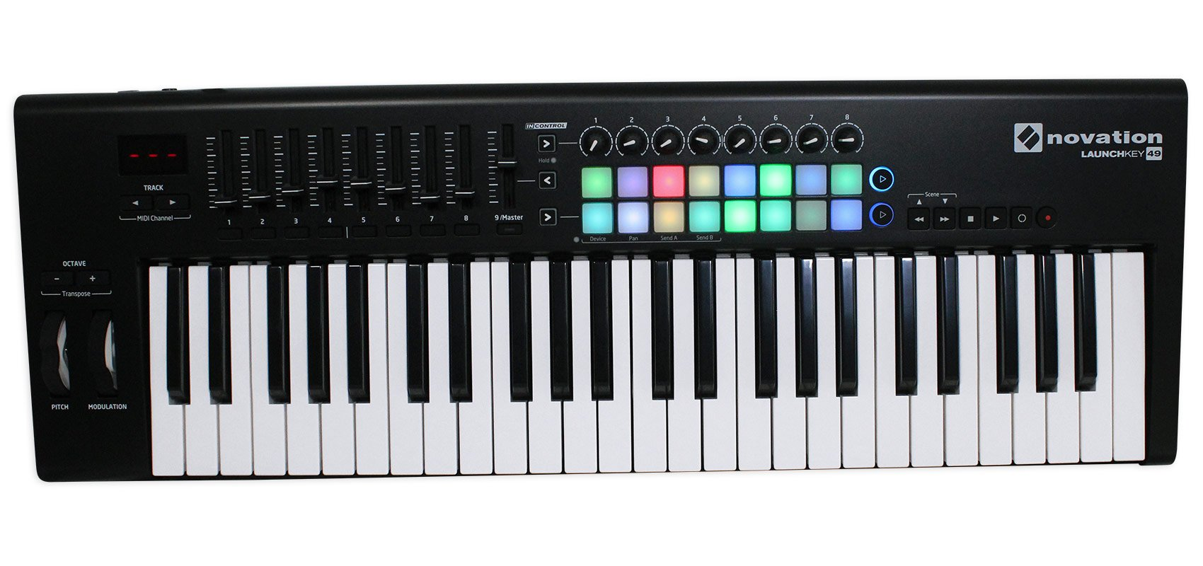 Novation LAUNCHKEY-49-MK2 49-Key Keyboard Controller+Bench+Headphones+Mic+Cable by Novation (Image #2)
