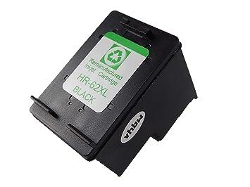 Cartucho de Tinta vhbw Compatible Negra para Impresora HP ...
