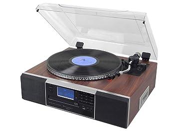 Soundmaster PL900 Marrón tocadisco: Amazon.es: Electrónica