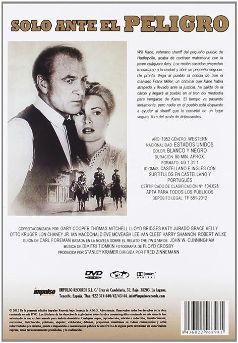 Solo Ante El Peligro (+ Cd) [DVD]: Amazon.es: Varios: Cine y Series TV