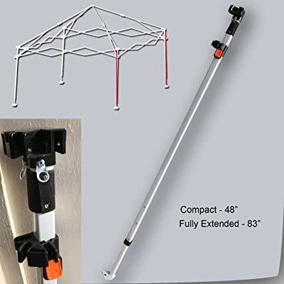 Ozark Trail Coleman Gazebo Canopy 10 X 10 ADJUSTABLE LEG SLIDER CAP Parts White: Garden & Outdoor