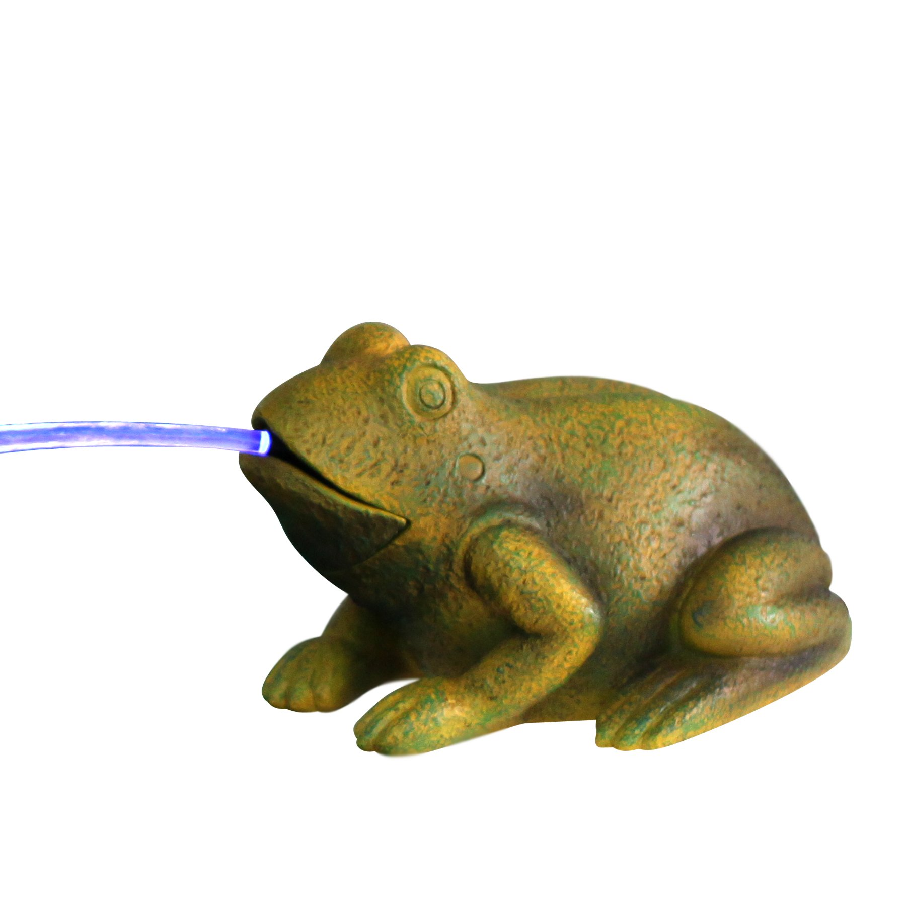 Beckett Frog Spitter with Pump and LED by Beckett Corporation