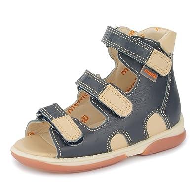 b581a8f73c1c Memo Apollo 3DA Boy s High-Top Ankle Support Orthopedic Leather Sandal