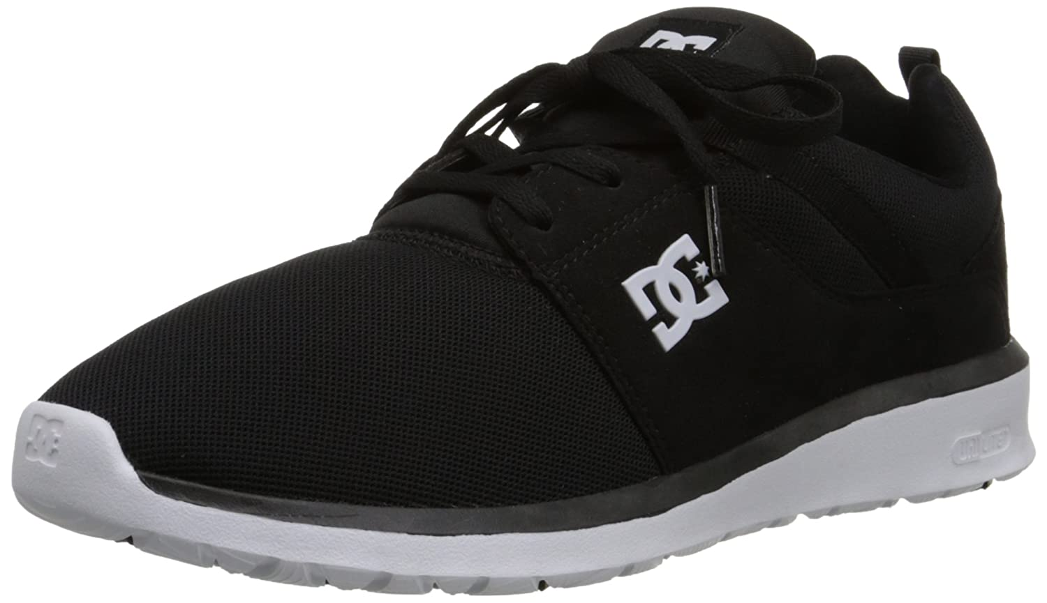DC Men's Heathrow Casual Skate Shoe 14 D(M) US|Black/White