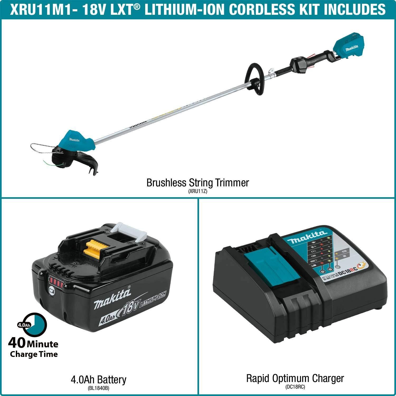 Amazon.com: Makita XRU11M1 Kit de cortadora de cadena sin ...