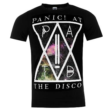 Amazon Com Official Mens Band Merch Panic At The Disco T Shirt