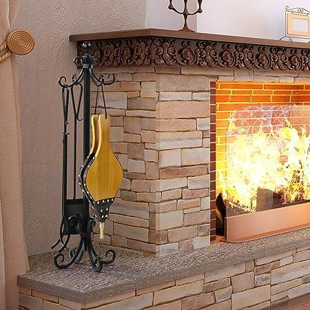 Fireplace Fuelle de chimenea de madera grande soplador de ...