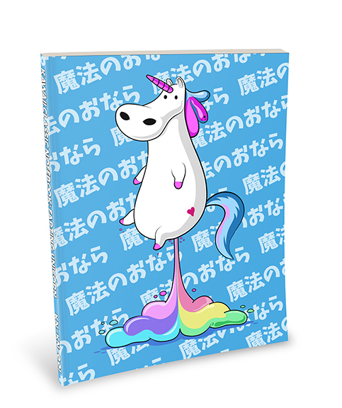 Kawaii Agenda - Farting Unicorn - KN-KA-001 : A 3 Month ...