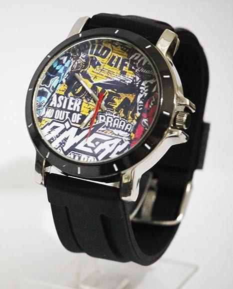 Gift watch Theme Oneal - Reloj de Pulsera para Bicicleta, diseño de Bomba de Motocross: Amazon.es: Deportes y aire libre