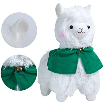 KOSBON 14 capa de Alpaca de peluche, lindo suave peluche juguetes de muñeca