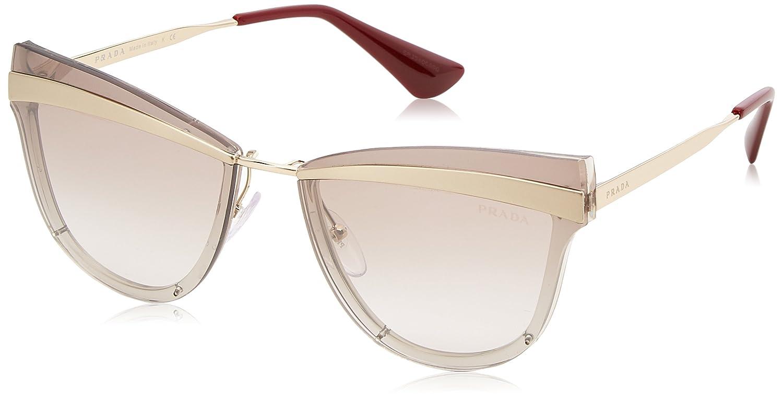 Prada 0PR 12US Gafas de sol, Beige/Marrón Chiaro, 58 para ...