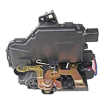 Trasero Derecho cerradura de la puerta del actuador para Golf 4 IV Passat Bora Superb, Octavia, Leon: Amazon.es: Coche y moto