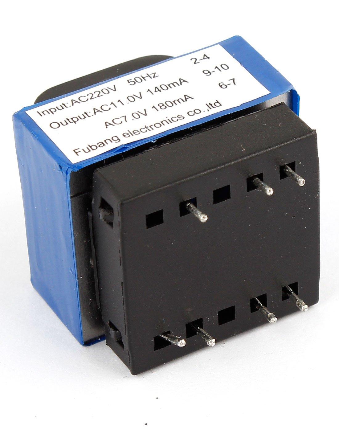 AC 220V a 314/7V 140mA/180mA 7-pin Horno De Microondas Transformador De Potencia: Amazon.es: Bricolaje y herramientas
