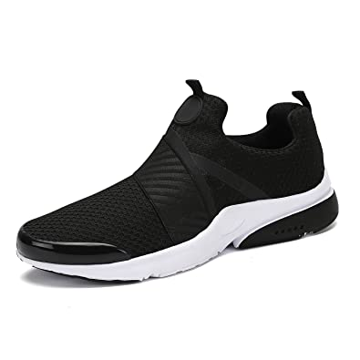2f28c02fa4827 Mishansha Men Women Fashion Sneakers Breathable Mesh Comfortable  Lightweight Walking Shoes Slip-On Running Soft