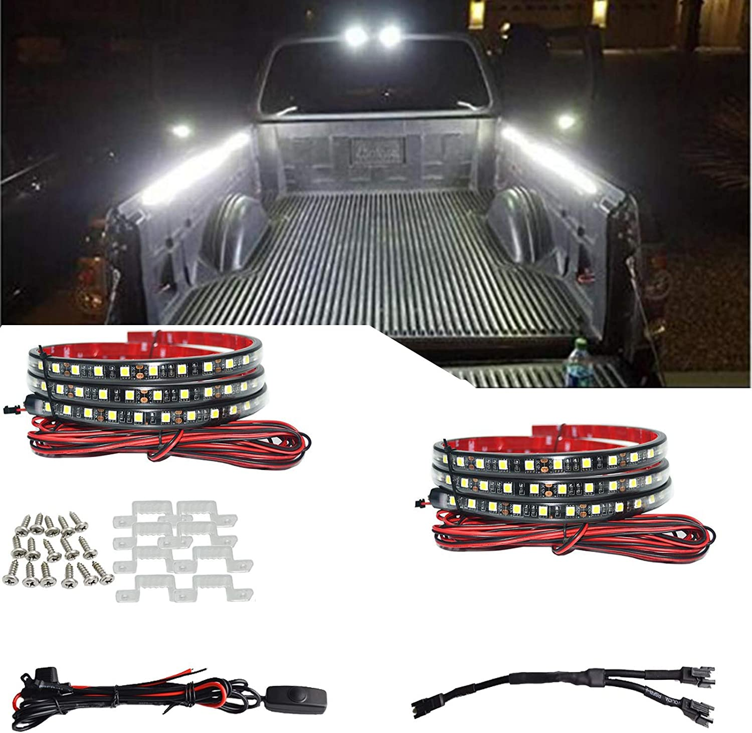 Nbdy Truck Bed Lighting Battery Powered