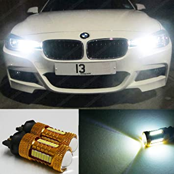 PW24 W 44SMD luces de conducción diurna LED Cree Bombillas Lámparas DRL Xenon ea2r5