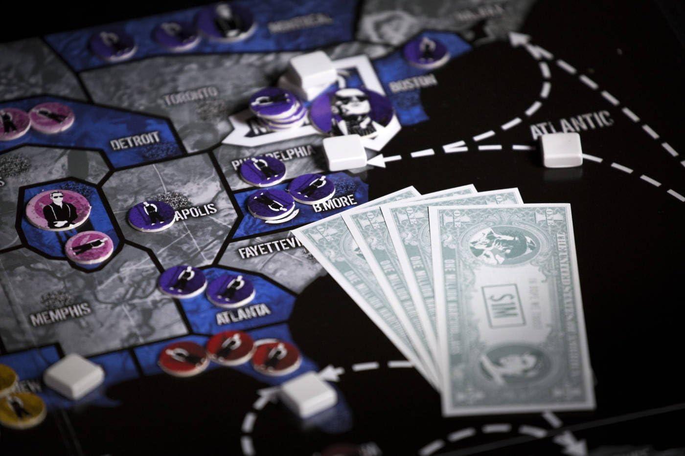 Borderline Deal American Dream - Juego de Mesa estratégica Narco: Amazon.es: Juguetes y juegos