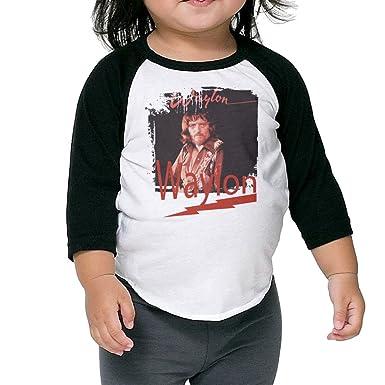 8eb88bae Baby Unisex Plain Raglan Waylon I've Always Been Crazy Baseball Shirts