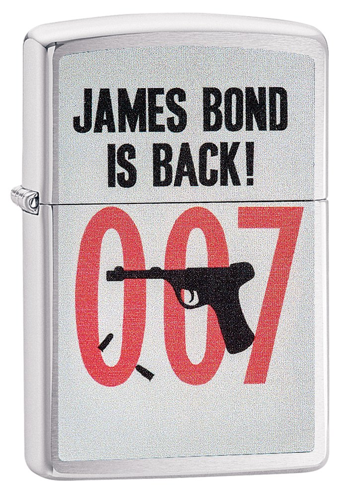 Zippo James Bond is Back Pocket Lighter