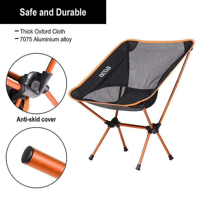 Plage Portable Randonnée Pliable Jardincharge 150kg De Camping Outad Pêche Alliage Poids En Chaise D'aluminium Pour EbHe9W2IYD