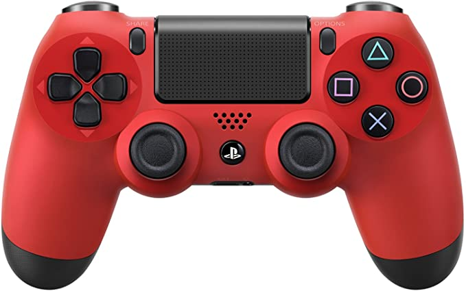 DualShock 4 Wireless Controller for PlayStation 4 - Magma Red ...