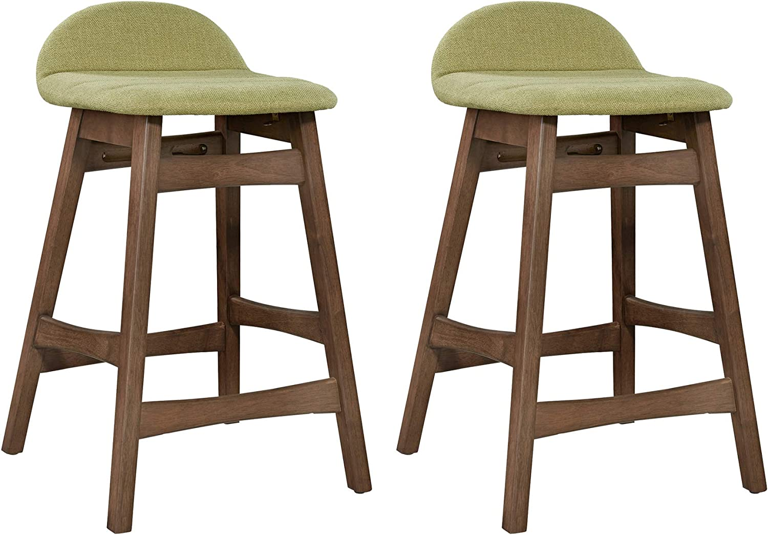 Liberty Furniture Industries Space Savers (Set of 2) Counter Chair (RTA), Green