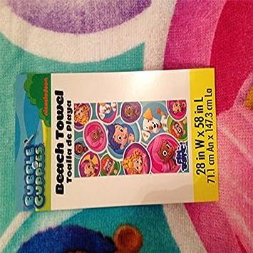 Bubble Guppies Beach Towel