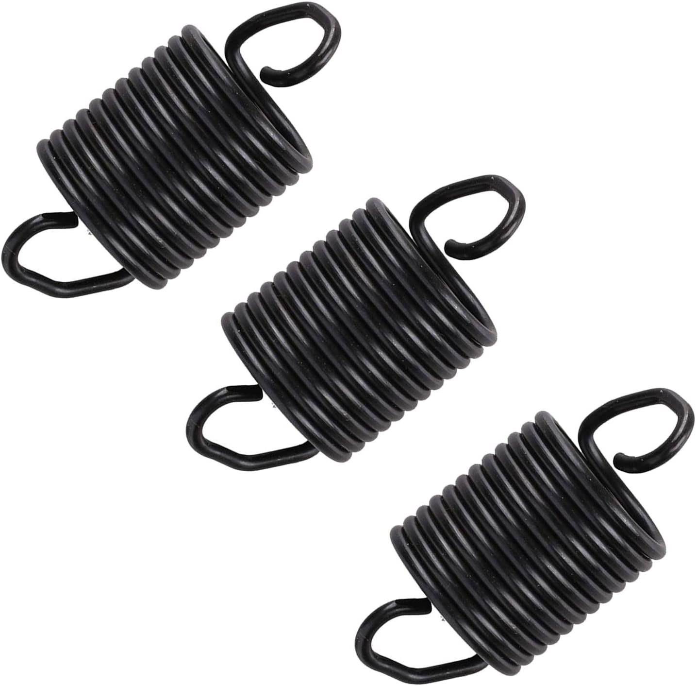 Washing Machine Suspension Tub Springs WP63907 - (3 PACK) For Whirlpool Kenmore Top Load Washer Suspension Spring - Replace 63907 PD00002622 63907 671098 AP6010168 PS11743345AP6010168 Black