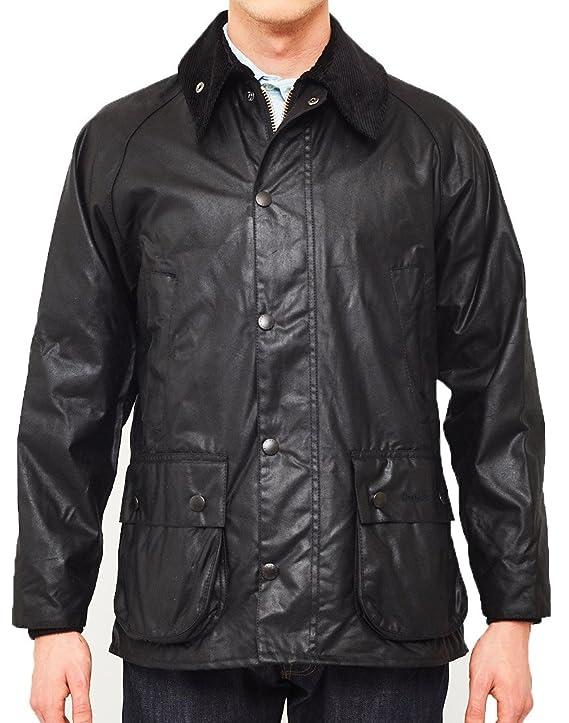 Barbour Chaqueta de Bedale encerado chaqueta - negro - : Amazon.es: Ropa y accesorios