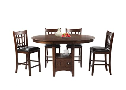 Peachy Amazon Com Abbey Avenue 5 Piece Theo Pub Dining Set Gmtry Best Dining Table And Chair Ideas Images Gmtryco
