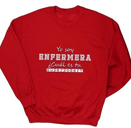 HippoWarehouse Yo Soy Enfermera, ¿Cuál es tu Superpoder? jersey sudadera suéter derportiva unisex niños niñas: Amazon.es: Ropa y accesorios