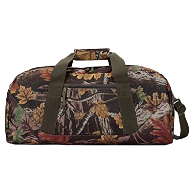 UltraClub Sherbrook Adjustable Strap Camo Large Duffel