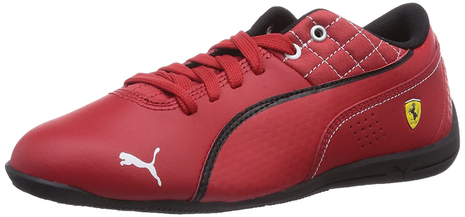 73a137a8f3db Puma Boy's Drift Cat 6 L SF Jr Rosso Corsa-Rosso Corsa-Bk Leather Running  Shoes - 11C UK: Amazon.in: Shoes & Handbags