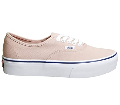 Vans Authentic Platform Womens Trainers Coral - 4 UK a65b86c97