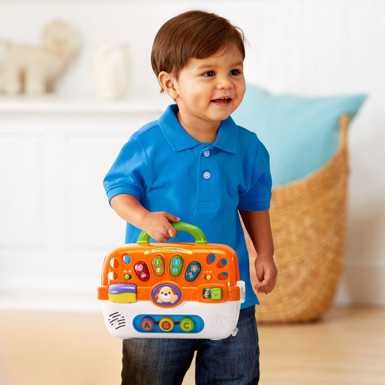 VTech Care for Me Learning Carrier Toy, Orange by VTech (Image #5)