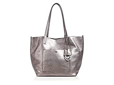 d7a4ce12c3f3 Amazon.com: Michael kors Reversible Colgate Metallic Grab Bag Tote XL: Shoes