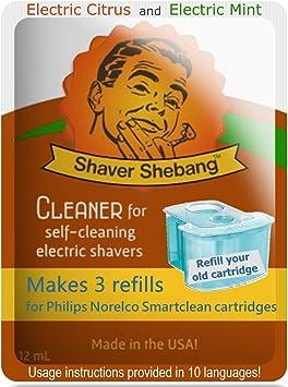 12 recargas para cartuchos Philips Norelco SmartClean - Menta ...