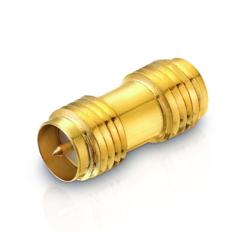 DMfit Rohrsteckverbinder T-St/ück Rohranschluss 3//8-3//8-3//8