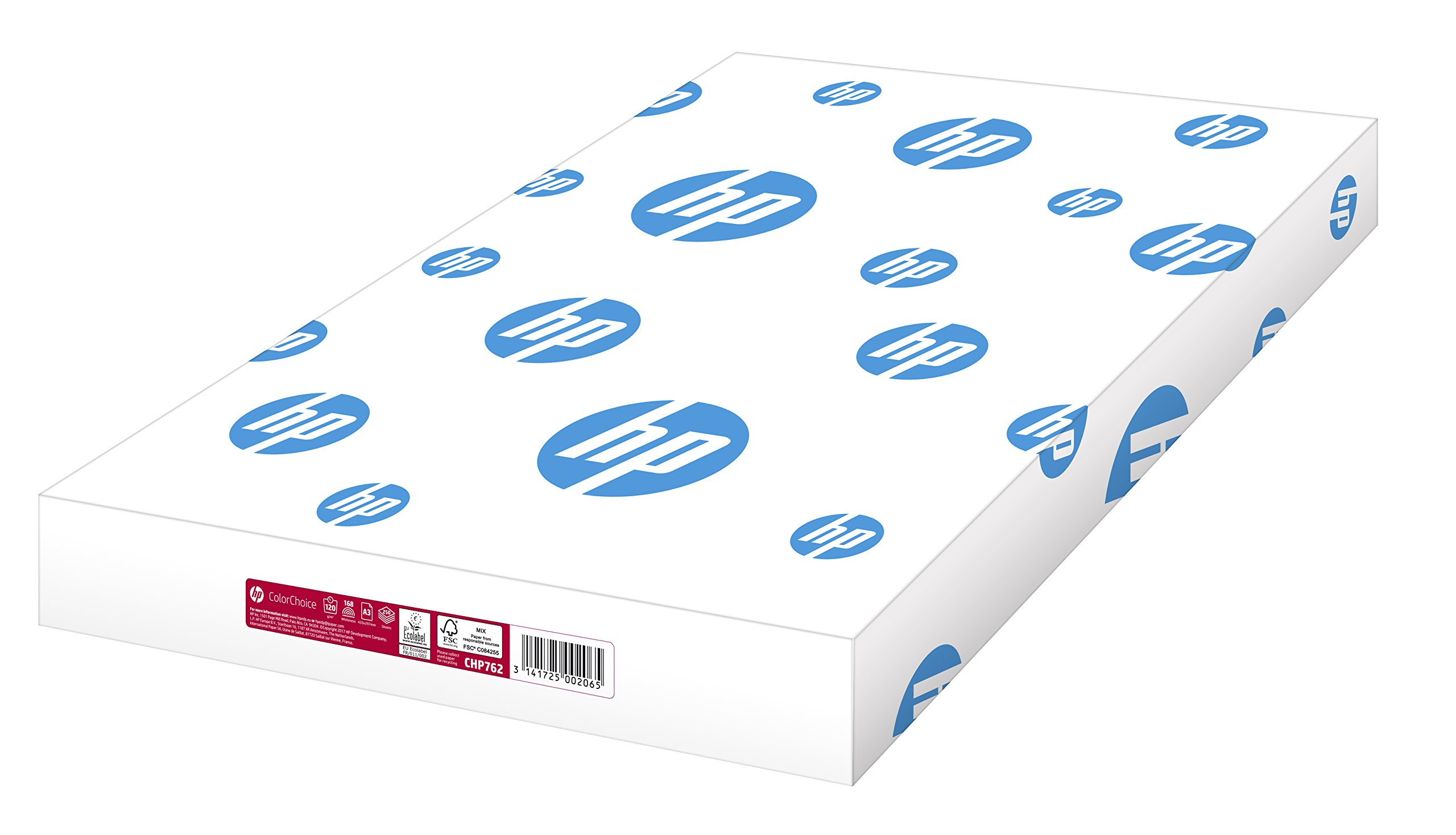 Hewlett Packard [HP] Colour Laser Paper Smooth 120gsm A3 White Ref HCL1030 [250 Sheets] by HP