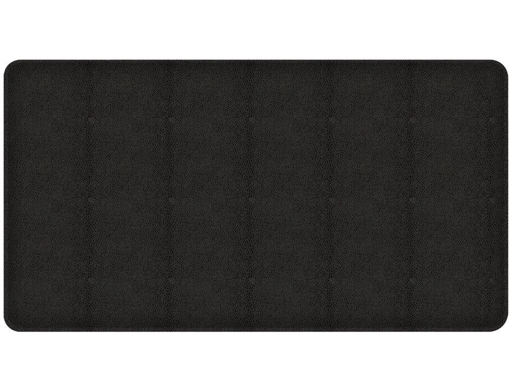 20 by 48-Inch Black Knight 817699019646 GelPro Shagreen Kitchen Mat