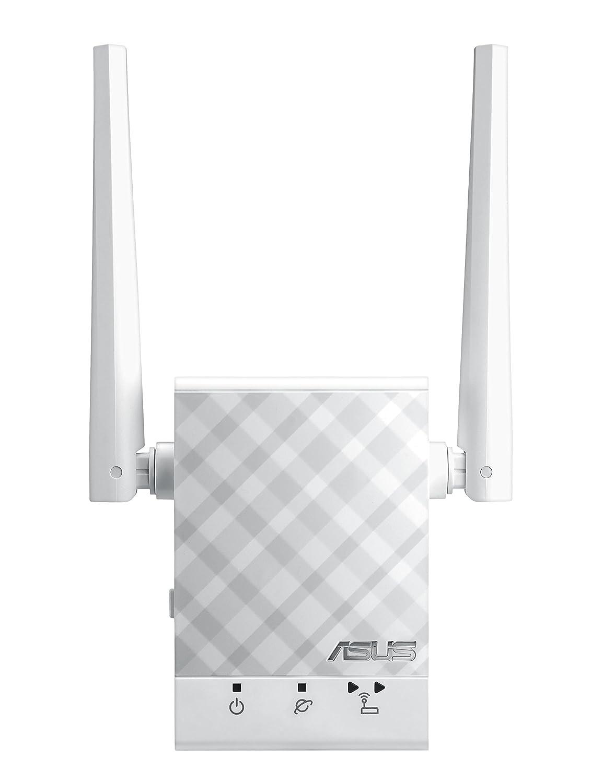 ASUS RP AC Repetidor extensor de Red WiFi AC Doble Banda Puerto