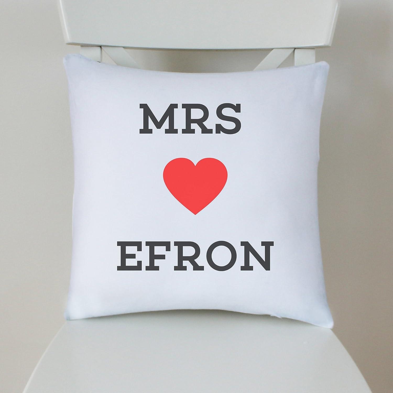 100% Cotton 40x40cm Silver Grey Zac Efron Cushion Pillow