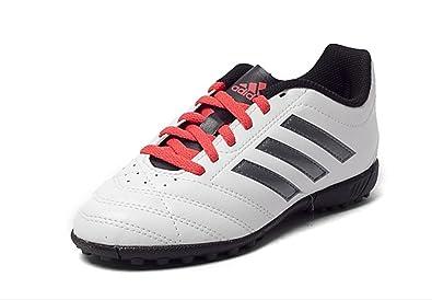 new product 5c3a2 8e1b6 adidas Jungen Goletto V TF J Fußballschuhe Weiß, 33.5