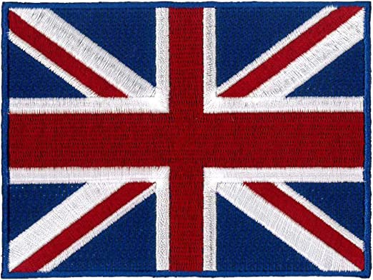Vintage Large Patch UNION JACK FLAG United Kingdom England Jacket Vest