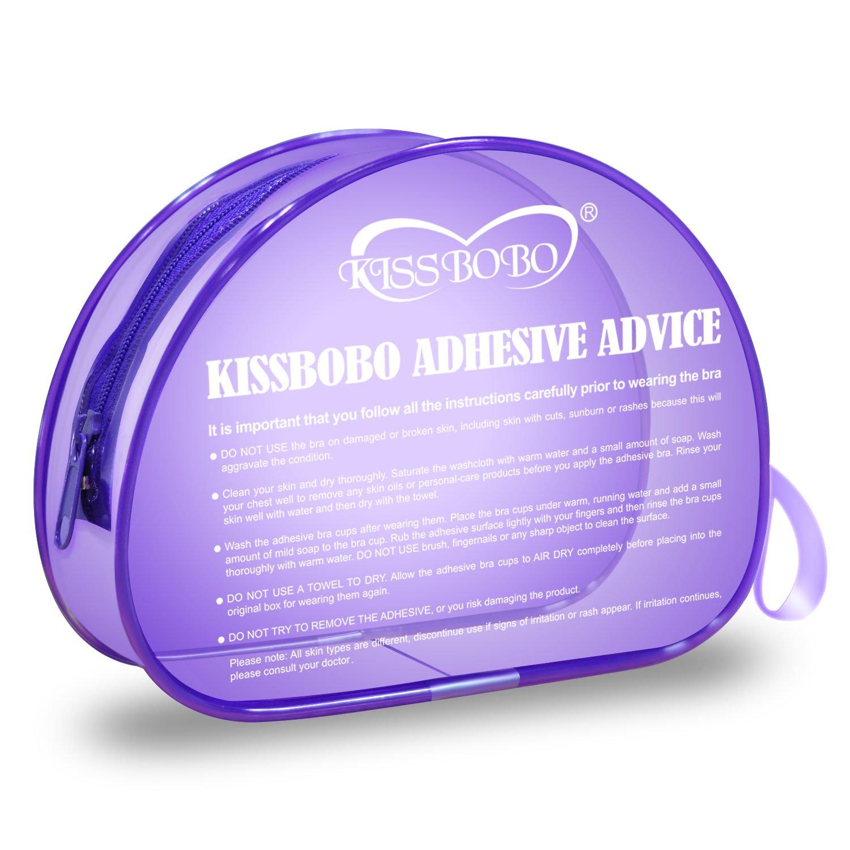 e740d133ce KISSBOBO Women s Strapless Bra Invisible Self Adhesive Silicone Bras(DD  Cup)  Amazon.co.uk  Clothing