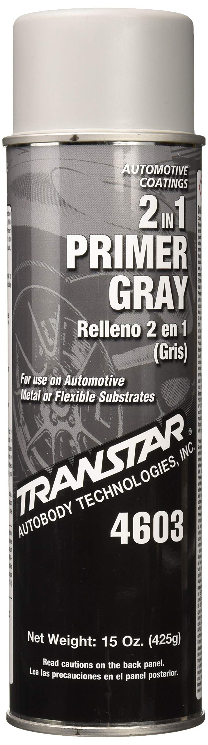 Transtar 4603 Gray 2-in-1 Primer - 15oz by TRANSTAR